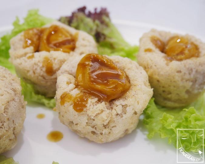 Petite Abalone & Scallop with Yam Nest (S$10++/pc, min. 2)