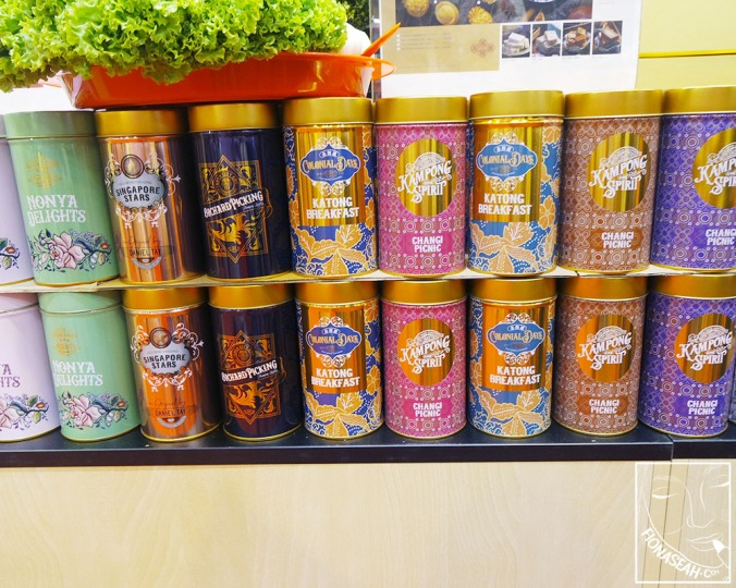 Check out these vintage tins from Old Seng Choon!