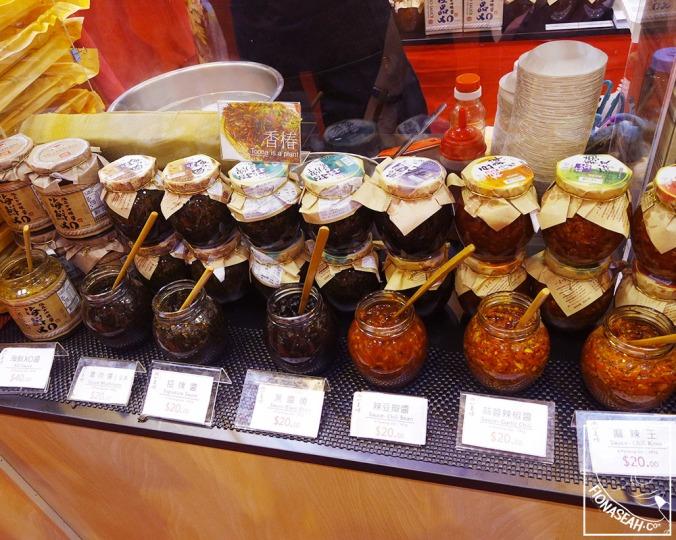Yi Lai Shuen condiments