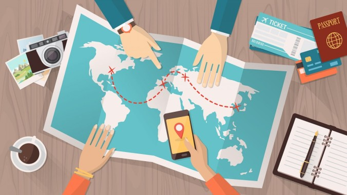 With Traveloka, you don't even need a physical map to plan your holiday..