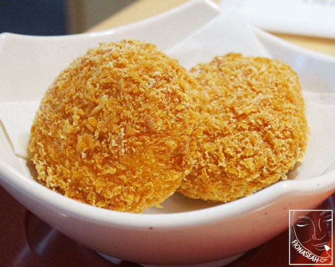 Crab Cream Croquette (S$3.50 for 2 pieces)