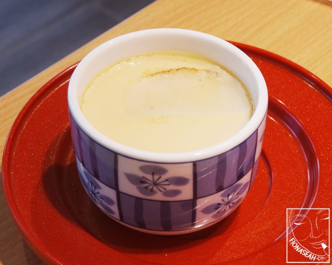 Chawanmushi with Scallop (S$3.50)