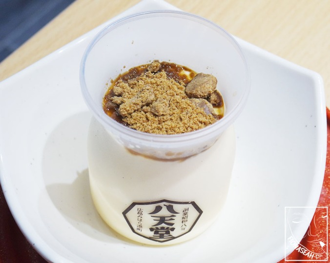 Hattendo Coconut Pudding with Okinawa Brown Sugar (S$4.30)