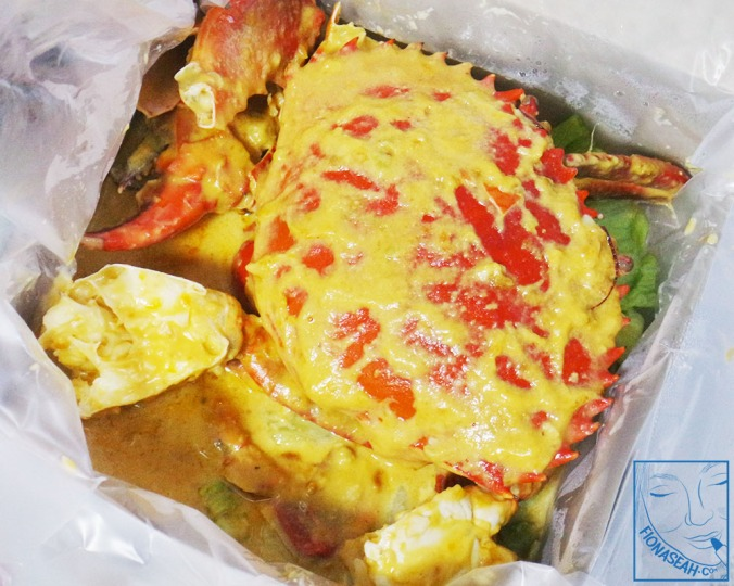 Salted Egg Crab (aerial view)