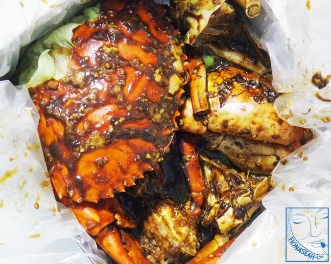 Black Pepper Crab (aerial view)