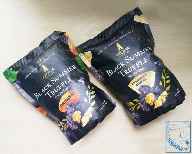 Aroma Truffle Chips in Original and Parmesan Cheese flavours!