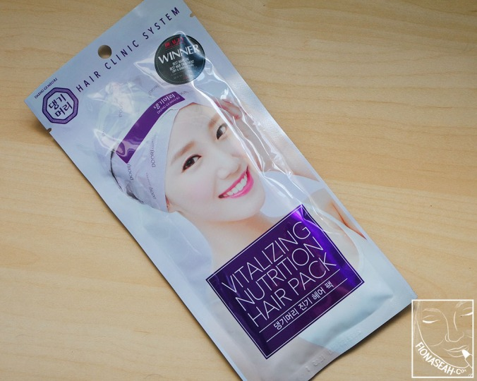 Daeng Gi Meo Ri Vitalizing Nutrition Hair Pack. I realised the model on the packaging changes from time to time.. This one in particular looks like Taeyeon!