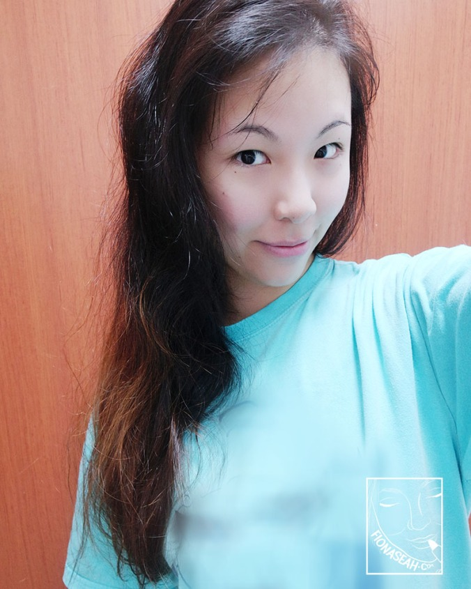 The morning after using Daeng Gi Meo Ri for the first time! Hair looks less crazy!