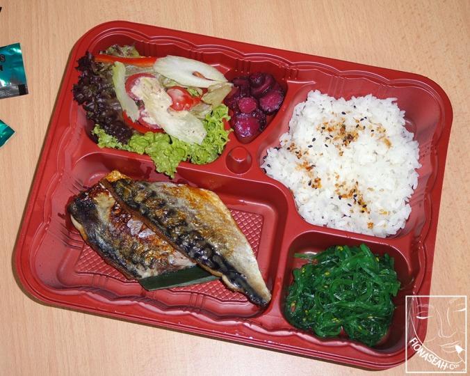 Saba Shioyaki Set Bento