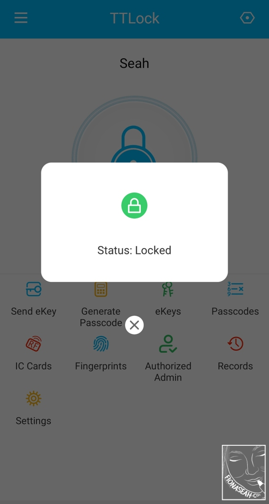 Check the lock status of your door remotely!