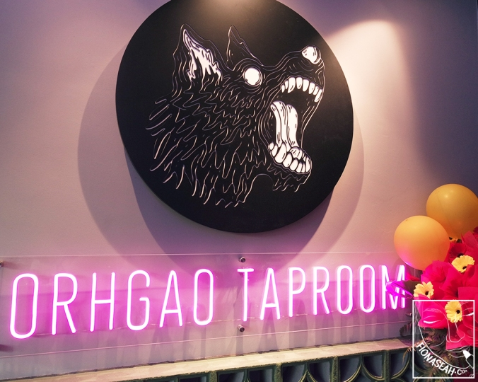 Orh Gao Taproom - a new casual bar serving residents in Bukit Timah!